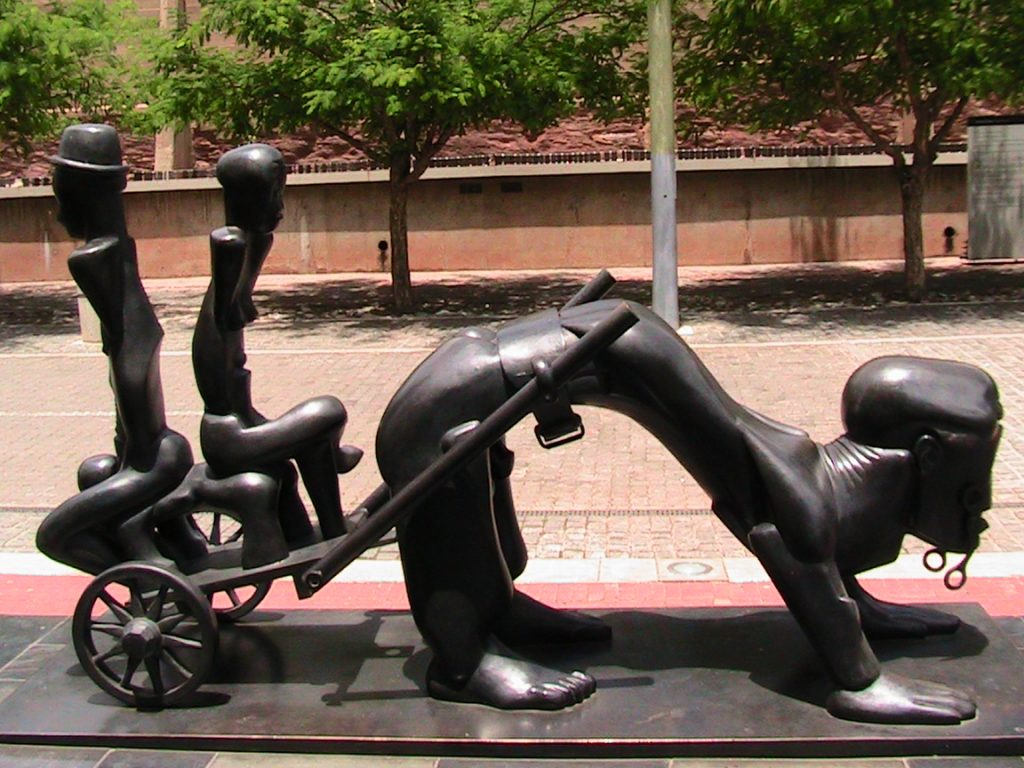 South Africa Sculpture, Constitutional Court.