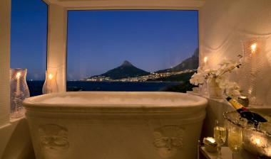 Twelve Luxury President suite bathroom Apostle Hotel Cape Town