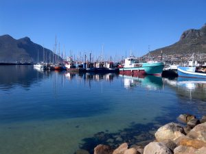 Hout  Bay Harbour, South Africa