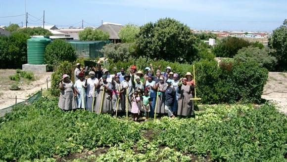 Abalimi Bezekhaya community garden Cape Town