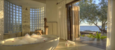 Azura Villa bathroom Mozambique