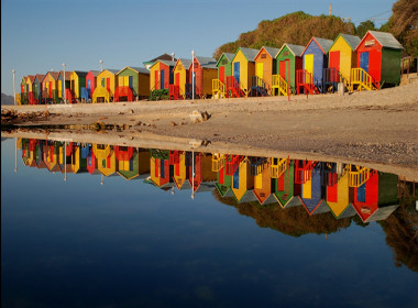 beach changing boxes cape town