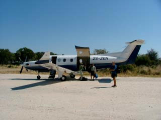 Botswana bush flights