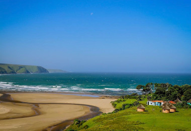 Cultural village location Wild Coast Eastern Cape