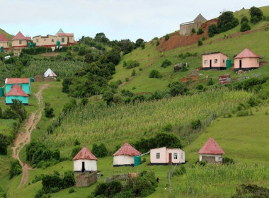 Wild coast village Eastern Cape