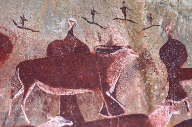 Cleopatra farmhouse bushman rock art