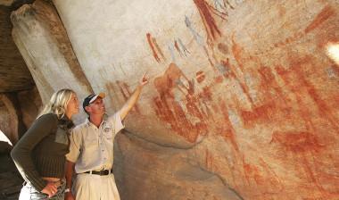 Bushman Kloof rock art paintings