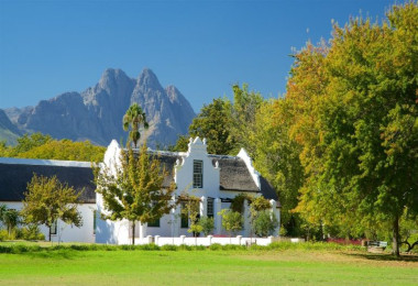 Cape dutch home cape winelands
