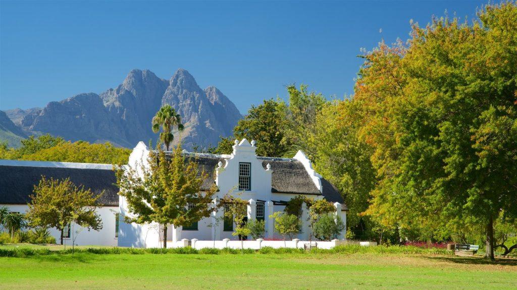 Typical cape dutch cape winelands architecture Cape Town