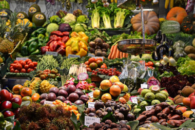 Cape Town Tours fruit/vegetable stand