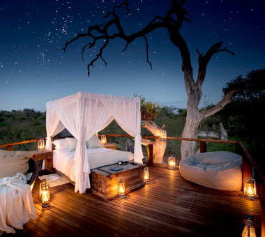 Chalkley Treehouse Lion sands kruger Safari.