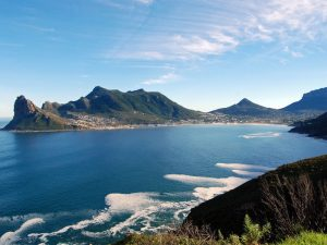 Chapmans peak drive view to Hout Bay Cape Town