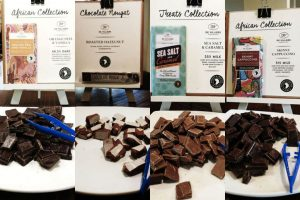 Chocolate tastings at Spice route Cape Winelands