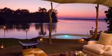 Chongwe River Camp  outside  Lower Zambezi Zambia Safari