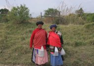 Eastern Cape village ladies