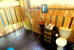 Shindzela En Suite Tented Bathroom