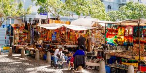 Greenmarket Square Arts/craft Market Cape Town