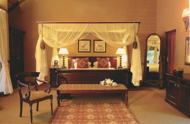 Kings camp bedroom