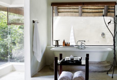 Lonolozi Varty camp bathroom kruger safari