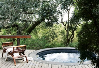 Londolozi varty Camp plunge pool Kruger safari