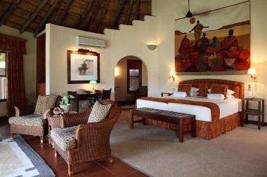 Mala Mala main camp bedroom