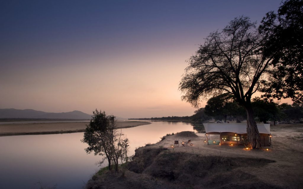 Mana Pool tented Camp Zimbabwe Safari.