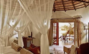 Motswari bedroom Timbivati Safari