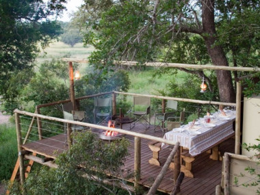 Plains camp walking Safari Kruger Park