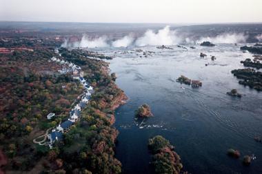 Royal Livinstone Victoria falls views