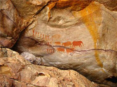 San rock art cederberg