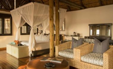 Savute safari lodge room