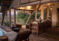 Selinda camp luxury tented Botswana safari