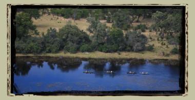 Selinda canoe trail