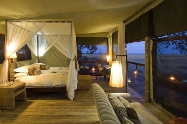 Shumba Camp Busanga plains Kafue National Park Zambia Safari.