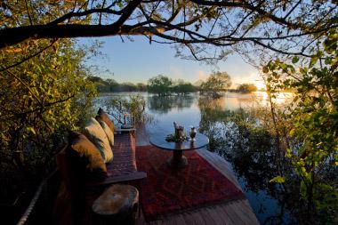 Sindabezi view from deckof cabin