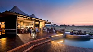 Somalisa Camp pool area Hwange National Park
