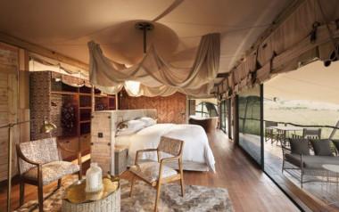Somalisa camp Hwange park bedroom