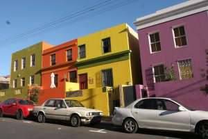 Colourful homes in the Bo Kaap Cape Town