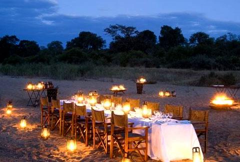 Ngala Evening Outdoor Dinner