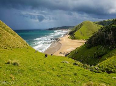 Wild coast hike
