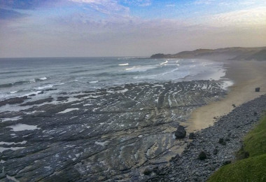 Wild Coast beach walk
