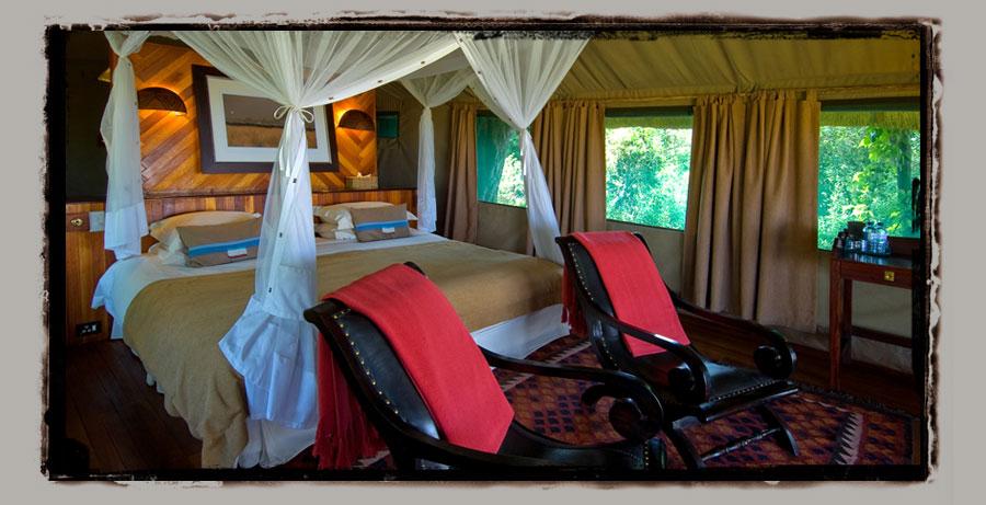 Selinda Camp  Selinda reserve Botswana Safari