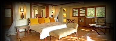 Botswana Chobe Chilwero bedroom Botswana Safari