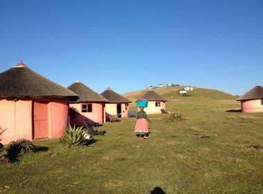 Lodging at Bulungula Village eastern Cape