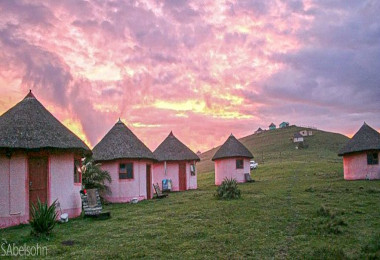 bulungula village sunset easten cape wild coast