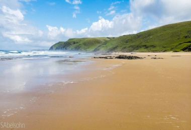 coastal beach wild coast eastern cape