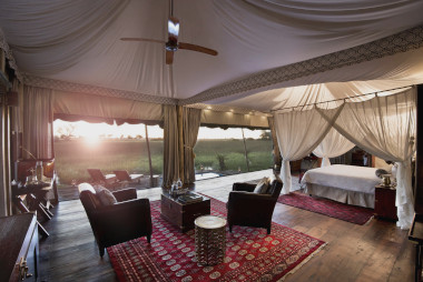 Duba Plains Suites Botswana safari