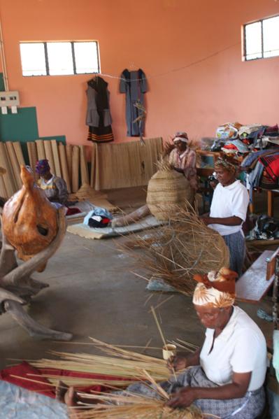 Eastern Cape Basket Weaving