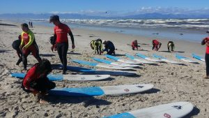 surf lessons cape town