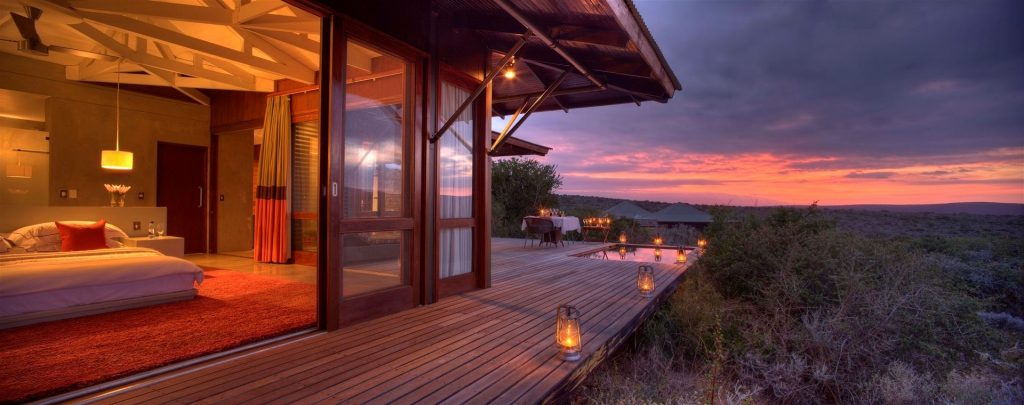 Kwandwe Ecca Safari Lodge  view